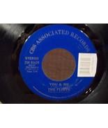 "THE FLIRTS ""YOU & ME"" NEAR MINT 45 RPM CBS ASSOCIATED RECORDS LABEL - $3.00"
