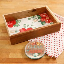 NEW 2017 The Pioneer Woman Vintage Floral Organizer and Dishwasher Magnet - $22.76