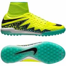 Nike Hypervenomx Proximo Tf Turf Volt Soccer Size 11.5 New (747484-700) - $74.87
