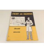 1971 Theory & Diagnosis Chevrolet Brakes ST 336-71 - $9.99