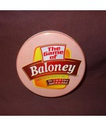 The Game of Baloney Family Fibbing Board Game w Metal Tin 1986 - $11.00