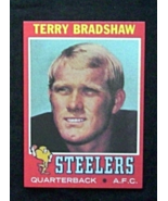 1971 Topps Football #156 Terry Bradshaw [Pittsburgh Steelers] Rookie Rep... - $3.25