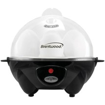 Brentwood Appliances TS-1045BK Electric Egg Cooker with Auto Shutoff (Bl... - £24.70 GBP