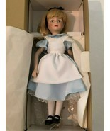 "Vintage The Disney Collection Alice in Wonderland 13"" Doll New In Box Wi... - £58.68 GBP"