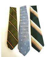 Lot of 3 Vintage Skinny Ties Sears Perma Prest, Count Dino &  Purcell's ... - $13.98