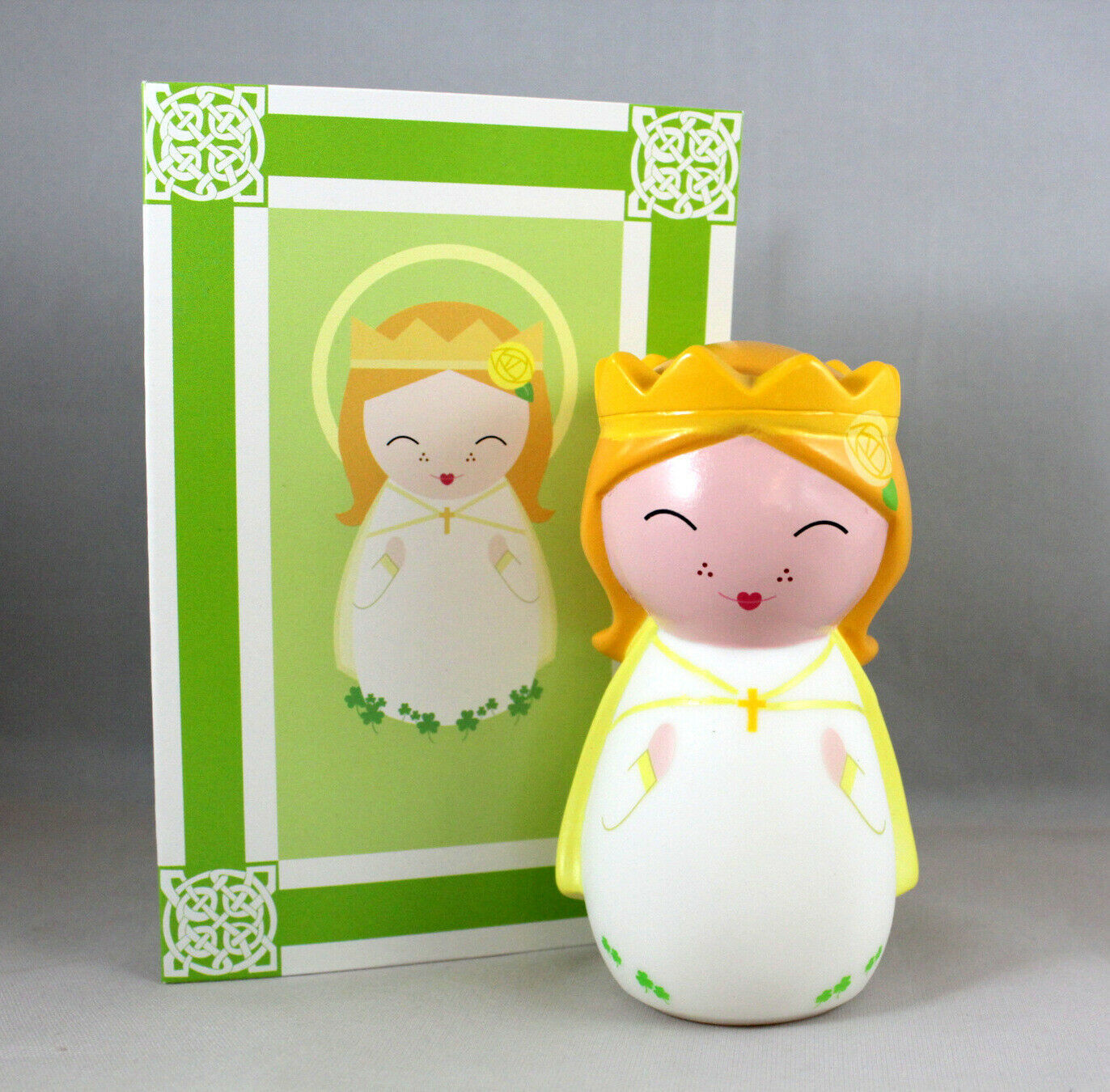 Primary image for Shining Light Doll Our Lady of Knock Collectible Vinyl Doll Story Prayer Card
