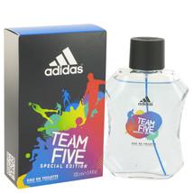Team Five by Adidas Eau De Toilette  3.4 oz, Men - $12.13