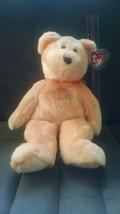 Ty Beanie Buddies Collection stuffed Dearest the Teddy Bear (2001). - $4.99