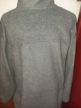 Mens Fleece Jacket XL Gray Prospirit Full Zip Front 2 Pocket  - $9.99