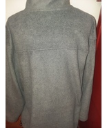 Mens Fleece Jacket XL Gray Prospirit Full Zip Front 2 Pocket  - $9.99
