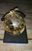 Wallace Silversmiths Gold Millennium 2000 Christmas Holiday Ornament. - $20.00