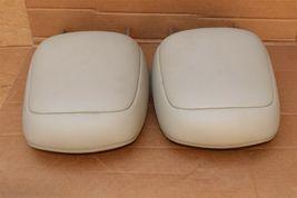 12-14 Prius-V Front Seat Headrest Head Rest Set Softex Faux-leather -BISQUE image 4