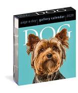 Dog Page-A-Day Gallery Calendar 2020 Workman Calendars - $8.19