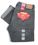Levi's Women's 501ct Stretch Tapered Leg Button-Fly Jean Denim Black Was... - $33.38
