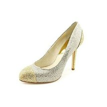 Michael Kors Sinclair Glittered Cap-Toe Pumps W... - $74.79