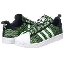 Adidas Superstar Glow in The Dark Green F37671 Mens Shoes Size 13 - $74.95