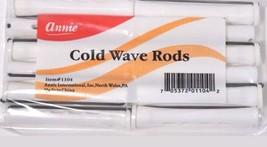 Brand New Annie #1104 Cold Wave Rods White 12PCS/PK - $2.60