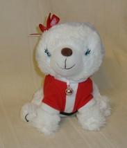 "Hallmark 2016 Bell in Santa Suit 7"" Plush Stuffed Animal Furry Christmas , Used - $9.89"