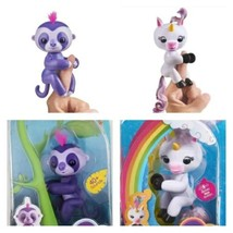 Fingerlings - Interactive Baby Sloth - Marge and Unicorn - Gigi By WowWee - $53.35
