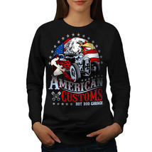 America Customs Jumper USA Country Women Sweatshirt - $18.99