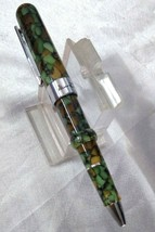 Conklin Mark Twain Crescent Ballpoint Pen Spring Green - $98.01