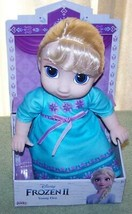 "Disney FROZEN 2 YOUNG ELSA 11"" Doll New - $25.88"