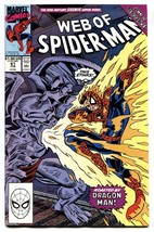Web Of Spider-man #61 Marvel-1st child Normie Osborne NM- - $25.22