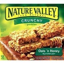 Nature Valley, Crunchy Granola Bars, Oats N Honey, Six 1.5 Ounce 2-bar P... - $14.00