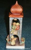 """Whitsuntide"" Goebel Hummel Angels In Bell Tower Figurine #163 TMK6 - GIFT! - $130.94"