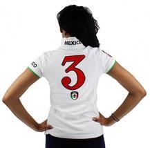 Us Polo Assn Women's Mexico World Cup 2018 Classic Cotton Golf Shirt T-Shirt image 3