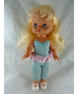 """Vintage Lil Miss Makeup Doll 1988 Mattel 12"""" Blonde Blue eyes Dressed + ... - $19.79"""