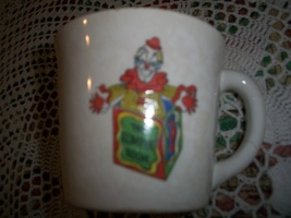 "Vintage ""The Romper Room"" Cup: Do Bee A Milk Drinker  - $15.00"