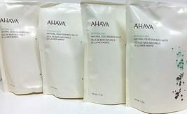 ( LOT 4 ) AHAVA DEADSEA SALT / NATURAL DEAD SEA BATH SALTS 11 FL OzEa NE... - $29.69