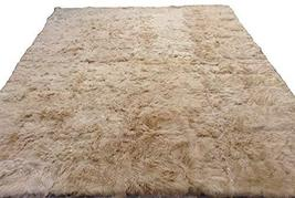 Alpakaandmore Light Brown Suri Alpaca Furry Carpet Fleece Fabric Covered (118.11 - $2,206.71