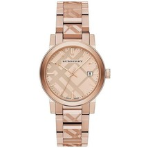 Burberry BU9039 The City Rose Gold Tone 38mm - RRP 795.00 USD - 2 Years Warranty - $298.00