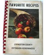 Livingston County, MI Extension Homemakers Community Fundraiser Cookbook... - $6.92