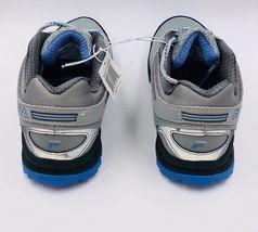 NEW Fila NORTHAMPTON Grey Light Blue Trail Sneakers New Womens Shoes image 4