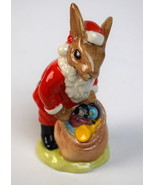 Adorable Royal Doulton 1981 BUNNYKINS Happy Christmas~DB17~MINT~The Perf... - $29.99