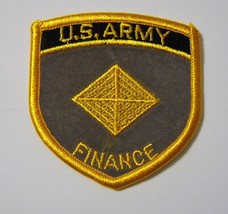 U.S. Army Finance Corps Branch Of Service Full Color Patch NEW:K5 - $3.75