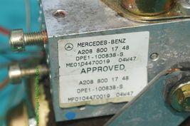 Mercedes W208 CLK320 CLK 430 Convertible Top Hydraulic Pump Motor A2088001748 image 6