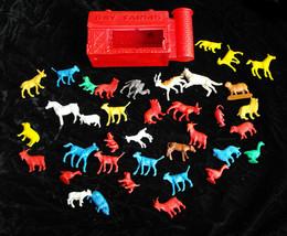 Gay Farms Farm Barn & Animals Lot Vintage - $26.99