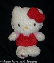 """11"""" SANRIO 2010 HELLO KITTY SOFT STUFFED ANIMAL PLUSH TOY DOLL FUZZY FLO... - $22.21"""