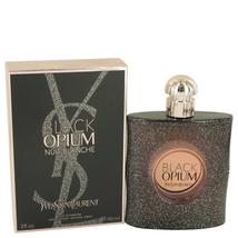 Black Opium Nuit Blanche by Yves Saint Laurent Eau De Parfum Spray 3 oz - $126.78
