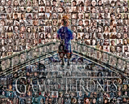 GAME OF THRONES PHOTO MOSAIC PRINT ART - $29.00+