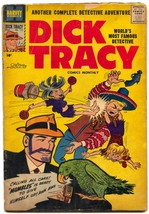 Dick Tracy #121 1958-CHESTER GOULD-HARVEY COMICS-PARROT G - $31.53