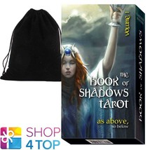 BOOK OF SHADOWS TAROT VOL 1 AS ABOVE DECK CARDS LO SCARABEO WITH VELVET ... - $25.53