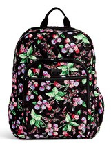 Vera Bradley Signature Cotton Campus Tech Backpack, Winter Berry