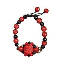 Bracelet Retro Chinese Style Ethnic Handmade Bracelets Woven Jewelry Agate