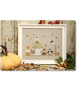 Autumn Is Coming cross stitch chart Madame Chantilly - $10.80