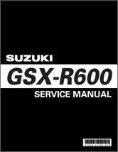 2006-2007 Suzuki GSX-R600 Service Repair Manual on a CD ---  GSXR600 GSXR 600 - $12.99